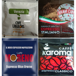 The 4 Robustas - mixed sampler pack without decaf